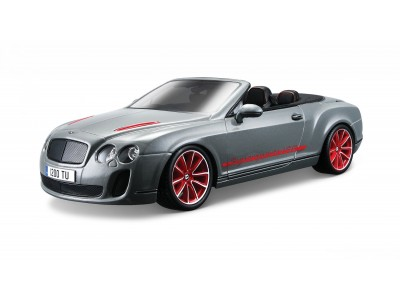 Машина Bburago BENTLEY Continental Supersports Convrtible ISR металлическая (18-15057)