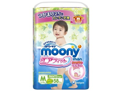 Трусики Moony Man M (6-10 кг) 58 шт.