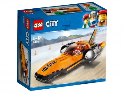 Конструктор LEGO CITY Гоночный автомобиль City Great Vehicles