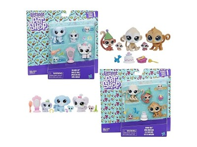 "Игровой набор  Littlest Pet Shop "" Семья петов"""